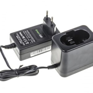 Green Cell Battery Charger CHARGPT02 8.4V -18V Ni-MH Ni-Cd for Bosch Power Tools