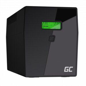 UPS Green Cell UPS04 Micropower 1500VA 12V/9Ah 900W 4x Schuko 380 x 158 x 198 mm