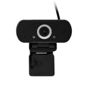 USB Webcam Mobilis W8-1 Full HD 1080P 1920X1080 with 2MP and Microphone Black