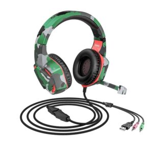 Stereo Gaming Headphone Hoco ESD08 3.5mm with Microphone