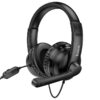 Stereo Gaming Headphone W103 Magic Tour with 3.5mm Connector and Microphone with Activation Switch Black