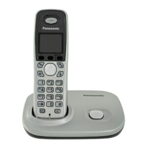 Refurbished (Exhibition) Dect/Gap Panasonic KX-TG8011GRS Silver with Speakerphone