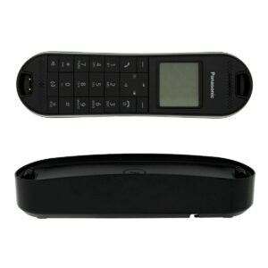 Refurbished (Exhibition) Dect/Gap Panasonic KX-TGK310GRB Black with Speaker Phone and Baby Monitor