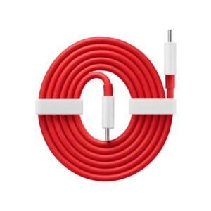 Charge Cable OnePlus Warp USB C to USB C 1.5m Red