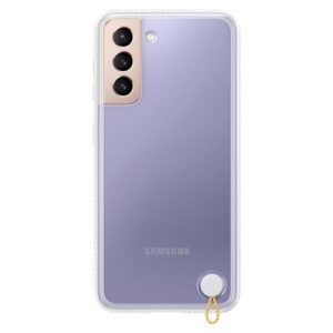 Protective Clear Cover Samsung EF-GG991CWEG G991B Galaxy S21 5G Clear-White