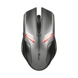 Wired Mouse Trust Ziva Gaming Grey/Silver
