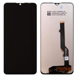 LCD with Touch Screen ZTE Blade 20 Smart V1050 Black (OEM)