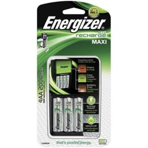 Battery Charger Energizer with AA/AAA with 4 ΑΑ Batteries 2000mAh Included