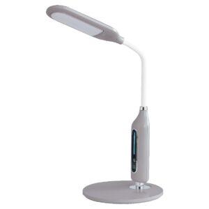 Maxcom LED Light ML4600 Claritas 350 Lumens IP20 with 3 Level Color Adjustment and Adjustable Arm Gray