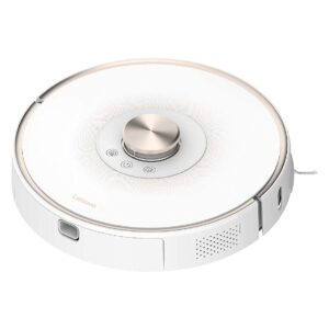 Robot Vacuum Cleaner Lenovo T1s L-VCL0L1 for Wet and Dry Cleaning 2700Pa Remote Controled with Laser Navigation and Mapping White