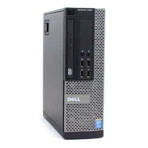 Refurbished PC Dell 9010 SFF i7-4770 4GB DDR3 / 500GB HDD with DVD-ROM and Grade A