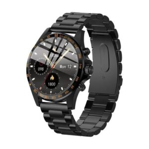 Smartwatch HiFuture HiGear 1.3'' Black - Stainless Steel Strap