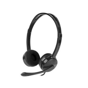Headset Stereo Natec Canary Go NSL-1665 with Microphone Black