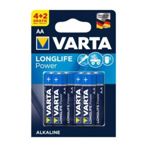 Battery Alkaline Varta Longlife AA LR06 (4+2 pcs)