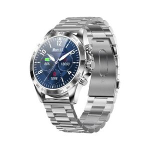 Smartwatch HiFuture HiGear 1.3'' Silver - Stainless Steel Strap