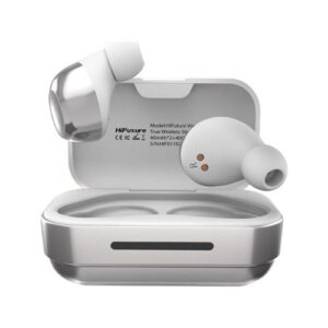True Wireless Bluetooth Earphones HiFuture Voyager White