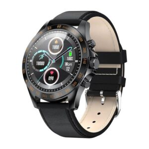 Smartwatch HiFuture HiGear 1.3'' Black - Leather Strap