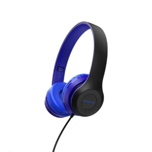 Headphone Stereo Borofone BO5 Star sound 3.5mm Blue with Microphone and Control Button