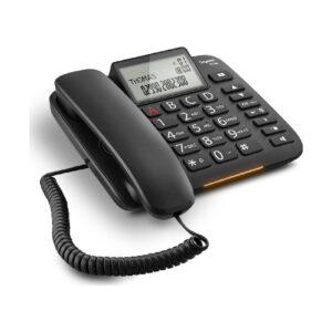 Corted Telephone Gigaset DL380 Black Large Adjustable Display S30350-S217-K101
