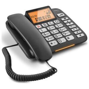Corted Telephone Gigaset DL580 Black Large Adjustable Display S30350-S216-K101