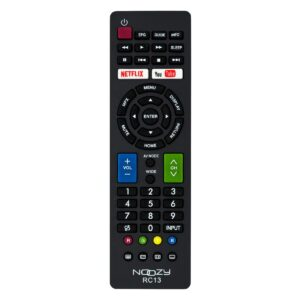 Remote Control Noozy RC13 for Sharp TV Ready to Use Without Set Up