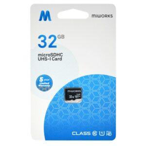 Flash Memory Card MiWorks MicroSDHC 32GB Class 10 UHS-I U1