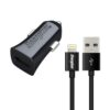 Car Charger Energizer 1A with Micro Lightning 1m Black