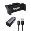 Car Charger Energizer 3.4A with Micro Lightning 1m Black 3492548227723