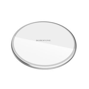 Wireless Charger Borofone BQ3 Preference 10W for Smartphones and iWatch White