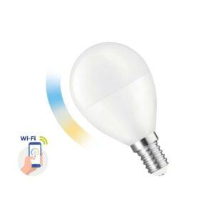 Smart LED Lamp Bulb Spectrum Ε14 5W 420 Lumens WiFi 2700-6900Κ 230V 50Hz A++