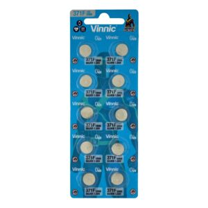 Buttoncell Vinnic 371F SR69 Pcs. 10 with Perferated Packaging