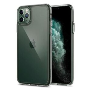 TPU & PC Back Cover Case Spigen Ultra Hybrid Apple iPhone 11 Pro Max Crystal Clear