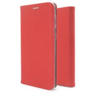 Flip Book Case inos Samsung A125F Galaxy A12 Curved S-Folio Red