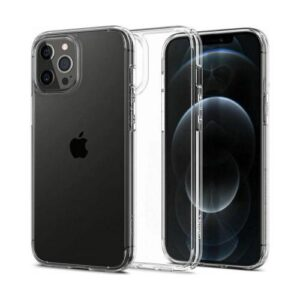 TPU & PC Back Cover Case Spigen Ultra Hybrid Apple iPhone 12 Pro Max Crystal Clear