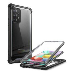 Full Body Rugged Case i-Blason Supcase Ares Samsung A725F Galaxy A72 Black