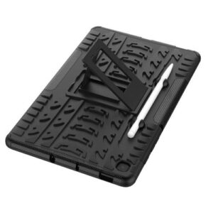Back Cover Case Armor with Stand inos Samsung P610 Galaxy Tab S6 Lite Wi-Fi/ P615 Galaxy Tab S6 Lite 4G Black
