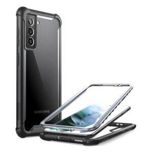 Full Body Rugged Case i-Blason Supcase Ares Samsung G991B Galaxy S21 5G Black