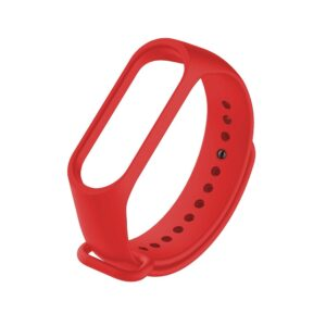 Band Replacement Ancus Wear for Mi Band 3 and Mi Smart Band 4 Red