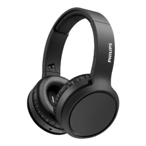 Bluetooth Stereo Headphone Philips TAH5205BK/00 V5.0 Built-in microphone Black User-friendly button control Bass Boost Button